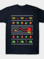 Alex Kidd In Christmas World - Ugly Sweater T-Shirt