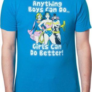 DC Comics Girls Can Do Better