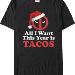 Deadpool Christmas Tacos