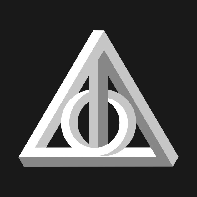 Deathly Impossible Hallows - Geometric Design