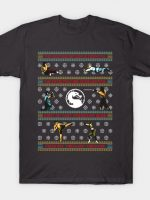 Finish Him! Finish Him! Finish Him! - Ugly Sweater T-Shirt