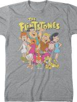 Flintstones Cast T-Shirt