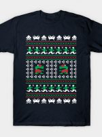 Games of Christmas Past - Ugly Sweater T-Shirt