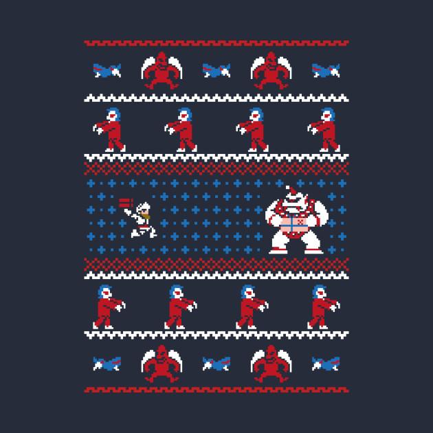 Ghosts n Goblins n Christmas Presents - Ugly Sweater