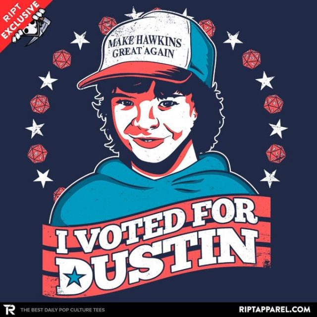 I Voted for Dustin
