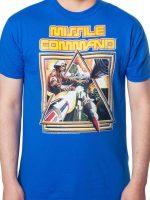 Missile Command Box Art T-Shirt