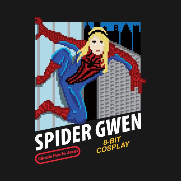 Spider Gwen - 8 Bit Cosplay - Nicole Marie Jean