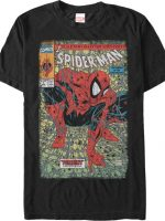 Spider-Man Torment Comic Cover T-Shirt