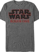 Star Wars Rogue One Logo T-Shirt