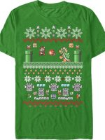 Super Mario Christmas T-Shirt