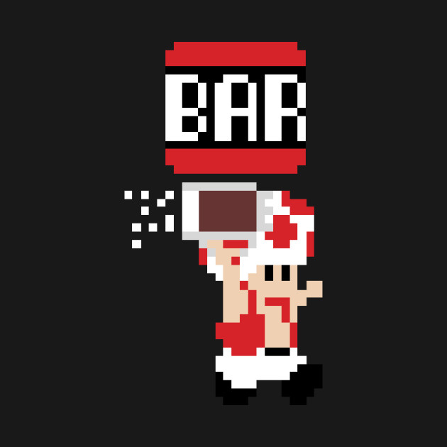 To The Bar Toad