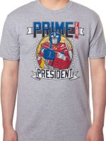 Transformers Prime For President T-Shirt