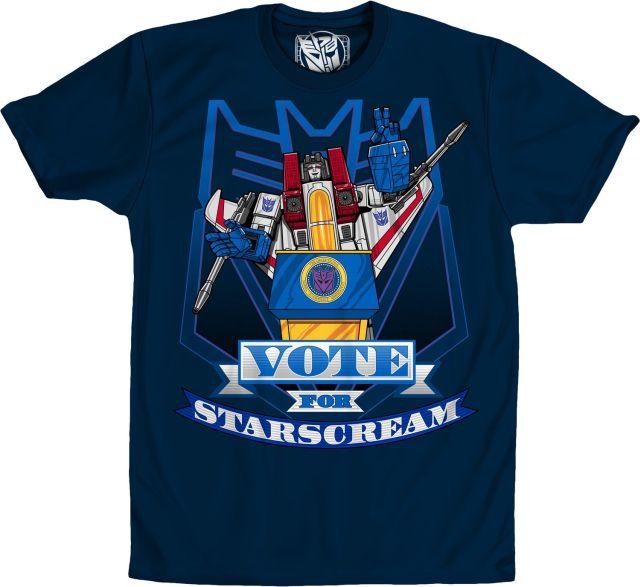 Transformers Vote For Starscream