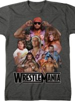 WrestleMania Legends T-Shirt