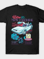Retro 80's Time Machine T-Shirt