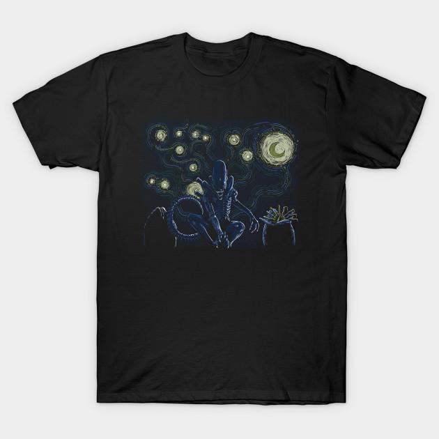 Starry Xenomorph