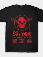 The Saviors: Half your Shit Tour T-Shirt
