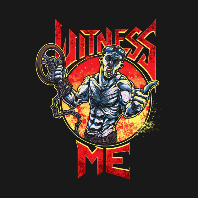 WITNESS ME, BROTHERS!