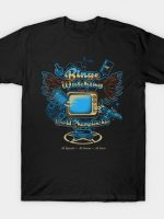 Binge Watching World Champion T-Shirt