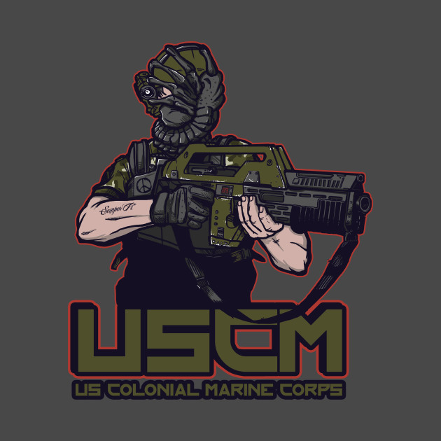 Colonial Facehugger T-Shirt