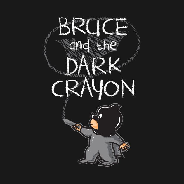 Dark crayon