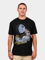 Darth Vader Christmas Sleigh T-Shirt
