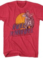 Fountain Jump Evel Knievel T-Shirt