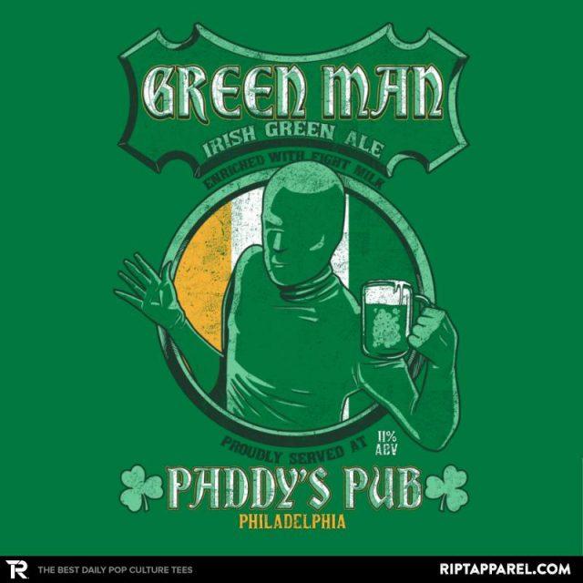 Green Man Irish Green Ale