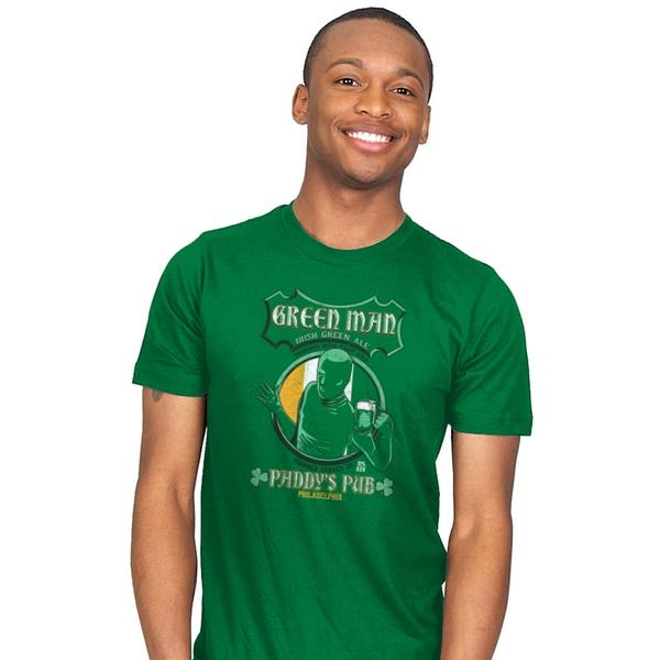 Green Man Irish Green Ale T-Shirt