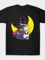 Moonlight Cats T-Shirt