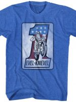 Motorcycle Evel Knievel T-Shirt