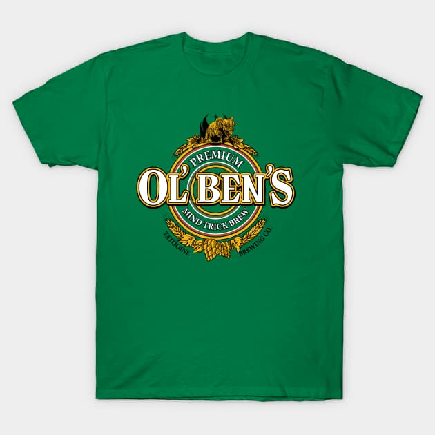 Ol' Ben's Mind Trick Brew T-Shirt