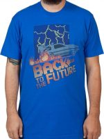 Pixel Back To The Future T-Shirt