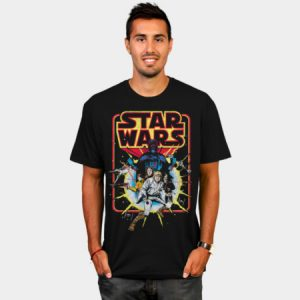 Retro Star Wars Comic