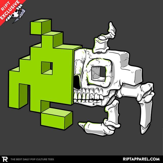 Space Invader Anatomy