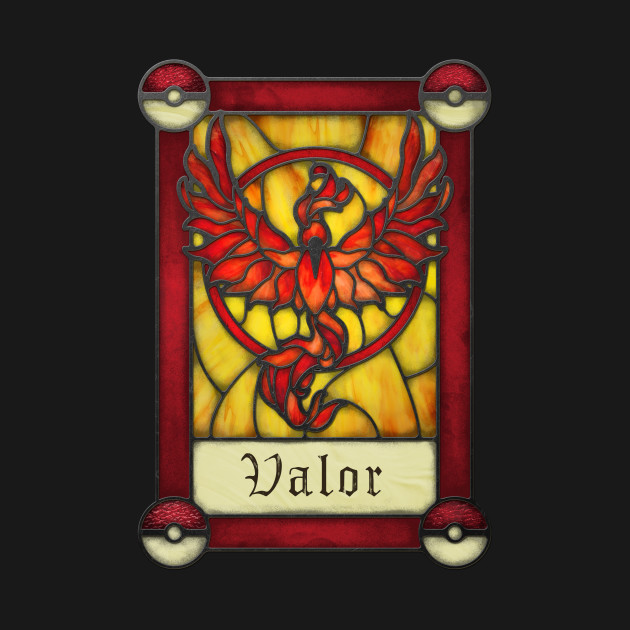 Stained Glass Series - Valor