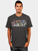 Star Wars Character Logo T-Shirt