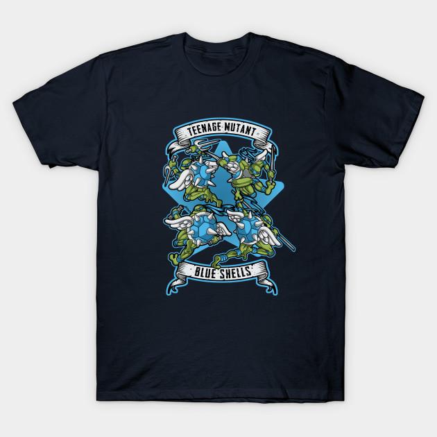 Teenage Mutant Blue Shells