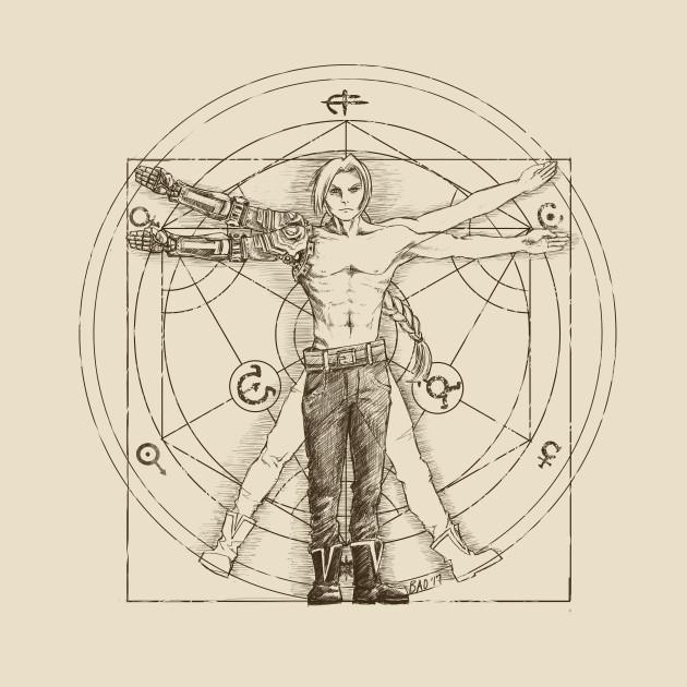 Vitruvian Alchemist