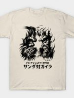 Waterbrushed Battling Giants T-Shirt