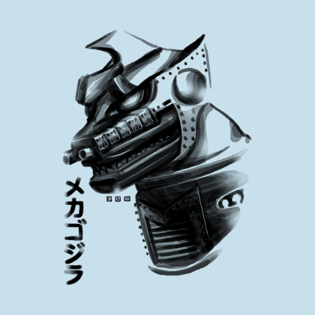 Waterbrushed Robot Villain!