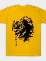 Waterbrushed Shisa T-Shirt