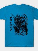 Waterbrushed Space Demon T-Shirt