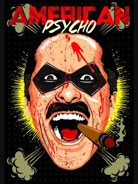 American Psycho Comedian Edition