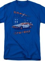 Clock Tower Back To The Future T-Shirt