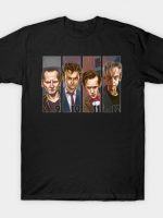 Doctor Who: The New Doctors T-Shirt