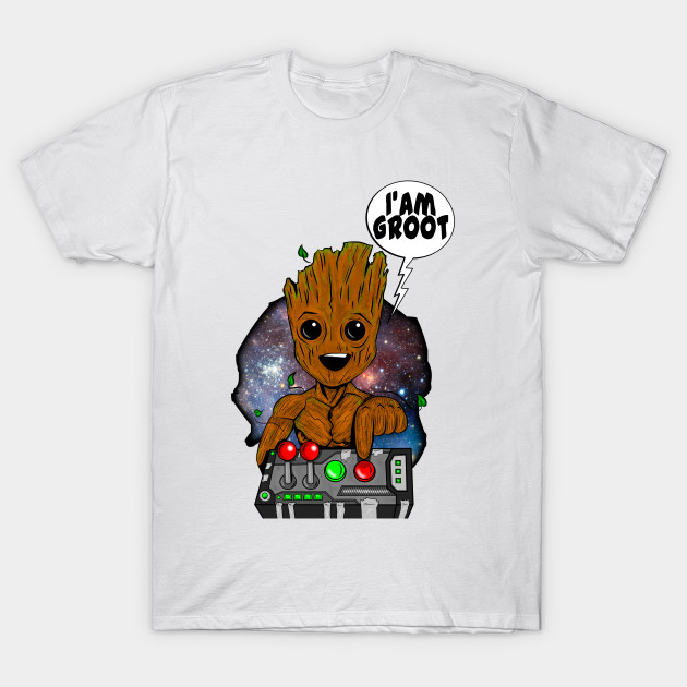 Groot Guardians Don't push the Button