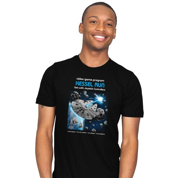 Kessel Run Video Game T-Shirt