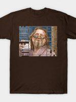 Lebowski: The Dude Abides T-Shirt T-Shirt