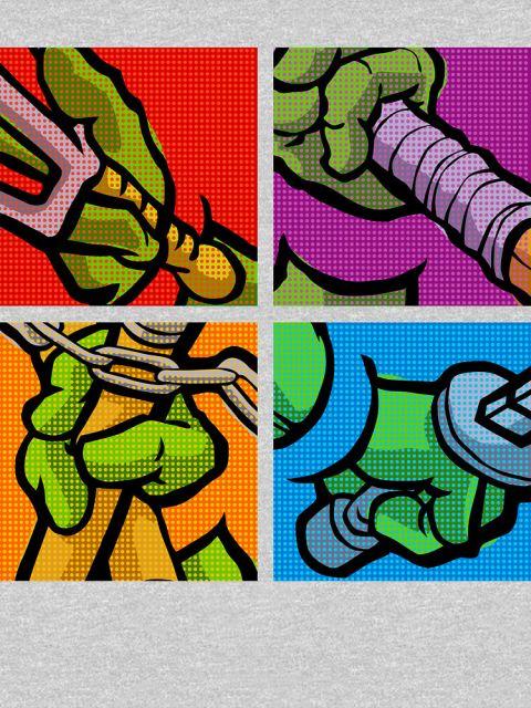 Lichtenstein Pop Martial Art Quelonians Full Set